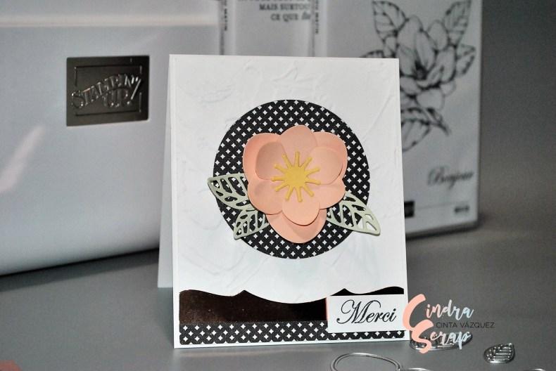 Carte Amour véritable et magnolia du matin