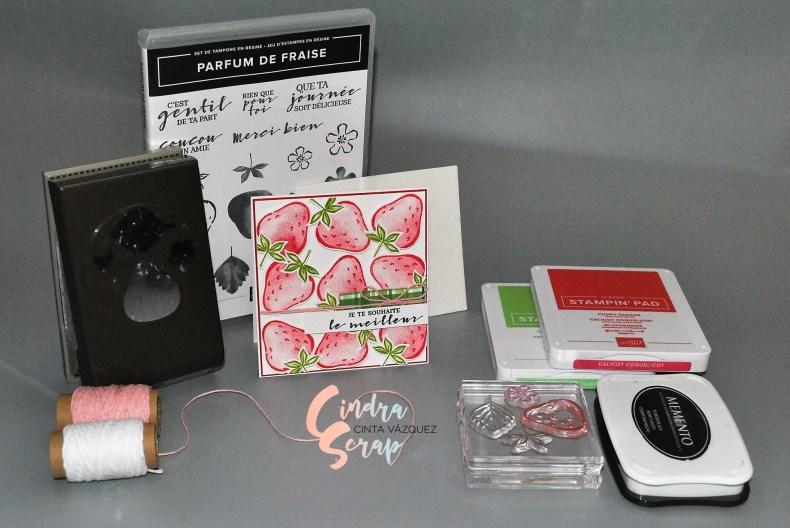 Carte Parfum de fraise