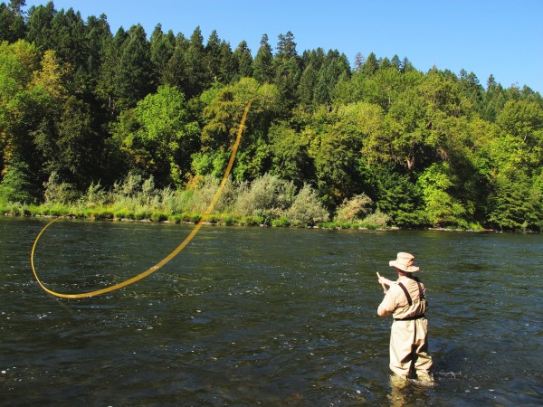 Jeff barganier fly fishing Rogue River
