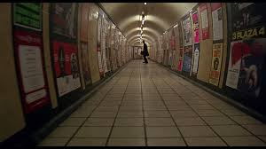 The London tube--truly scary