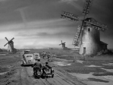 sinister windmills