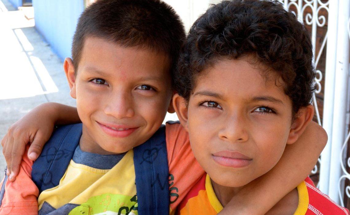 Schoolboys in Granada, Nicaragua