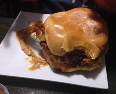 instant karma peanut butter burger e