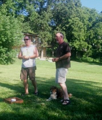 lake house Tim and Mark e