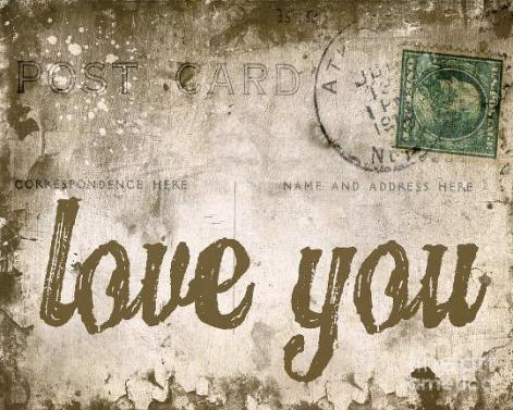 love letter vintage e