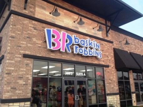 Baskin Robbins e