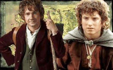 Hobbit Day Bilbo and Frodo e