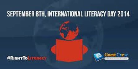 International Literacy Day poster e