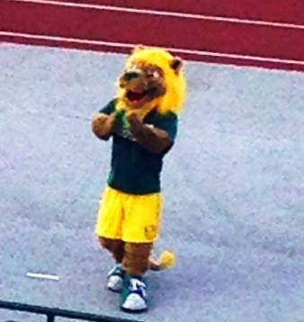 MSSU football mascot e