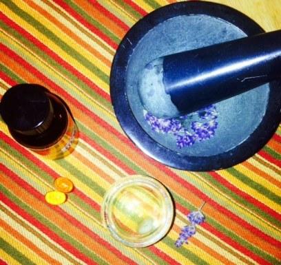 herbal skin serum