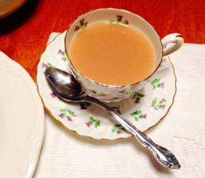 Mimis thistle teacup late tea 2