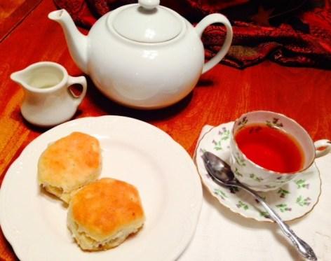 Mimis thistle teacup late tea