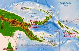 Where in the World Papua New Guinea