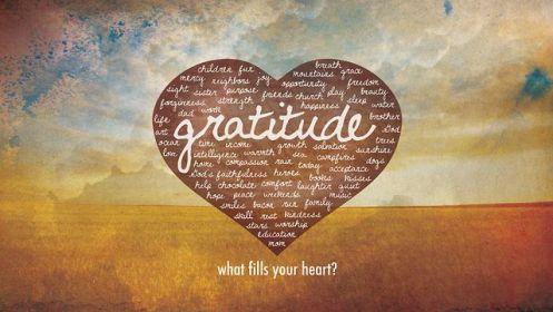 gratitude in your heart