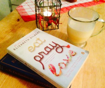 egg nog and books