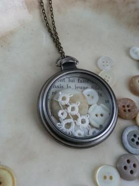 studio bliss pocket watch pendant