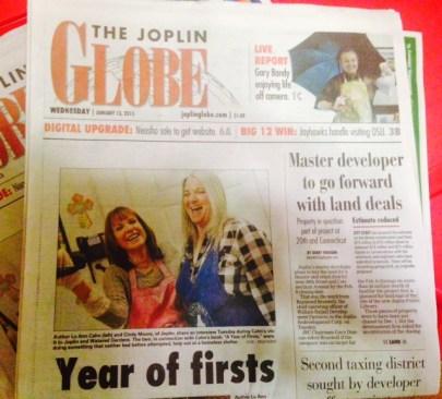 Joplin Globe article