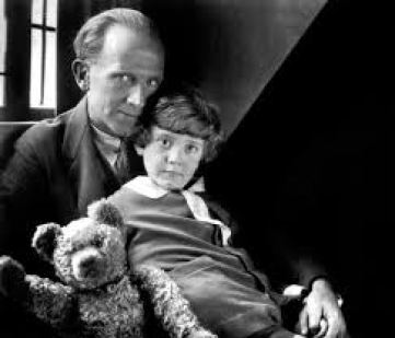 Pooh Milne and Christopher Robin