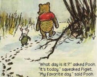 Pooh What day is it