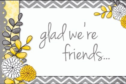 send a card to a friend day glad
