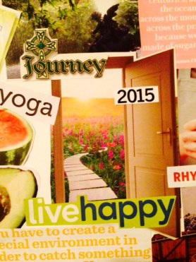 vision board 2015 open door and journey