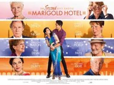 second best exotic marigold hotel cast