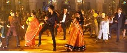 second best exotic marigold hotel wedding dance