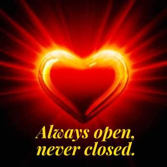 untethered soul heart open