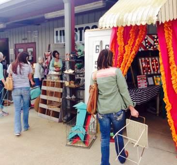 vintage market Elissa and Adriel