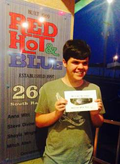 Dayans 16 at Red Hot and Blue