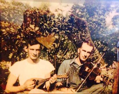 Papaw Bill's Violin Bill and Lloyd