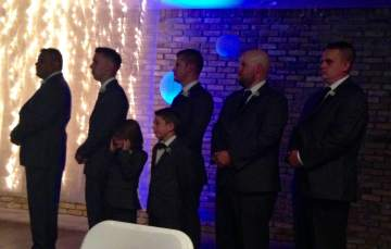 wedding Joey Oliver and groomsmen