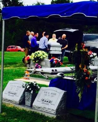 dads funeral pallbearers