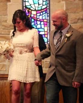 Elissas birthday wedding with Josh