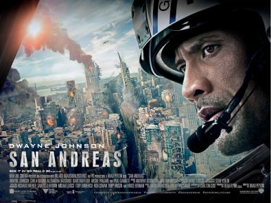 San Andreas Fault movie poster