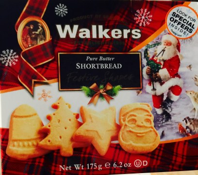 while we shopped at target i found these fun christmas themed shortbread cookies from the scottish company walkers and later in the afternoon