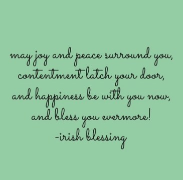 May Joy and Peace Surround You
