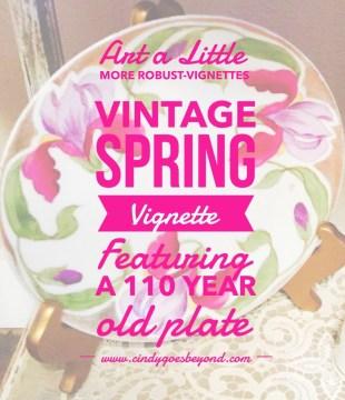 Vintage Spring Vignette