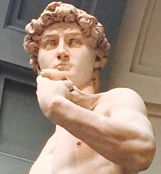 Meeting Michelangelo's David