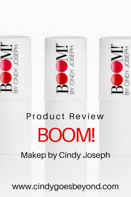 Product Review BOOM! Makeup by Cindy Joseph