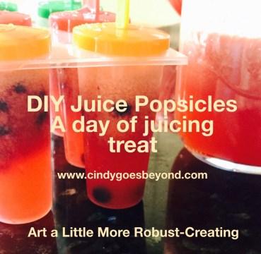 DIY Juice Popsicles