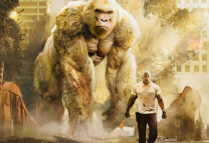 Movie Review Rampage