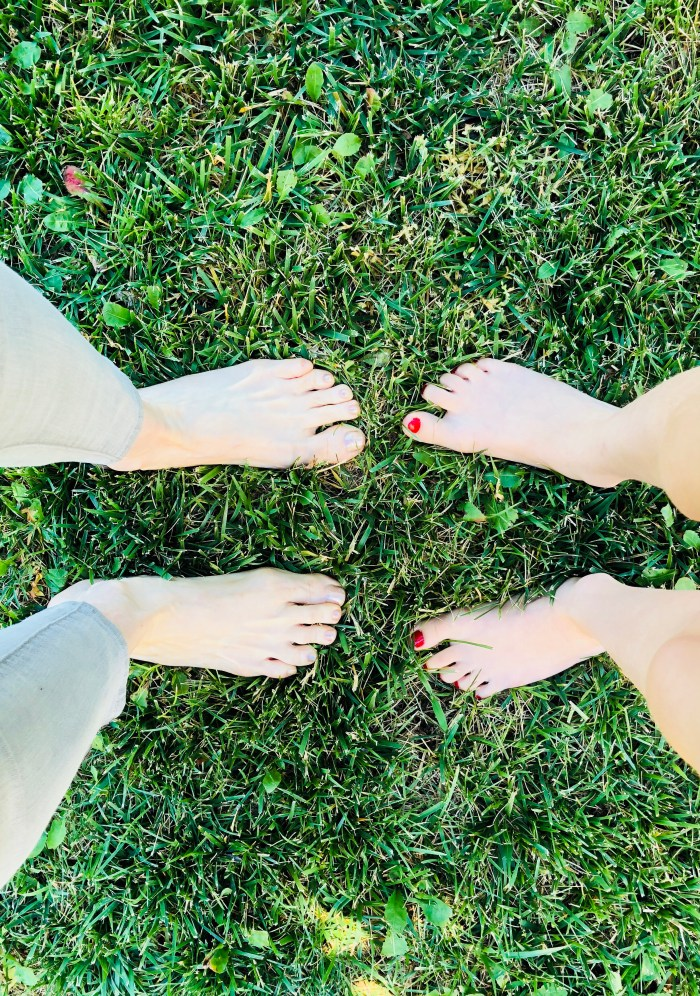 Day 1 Walk Barefoot in the Grass