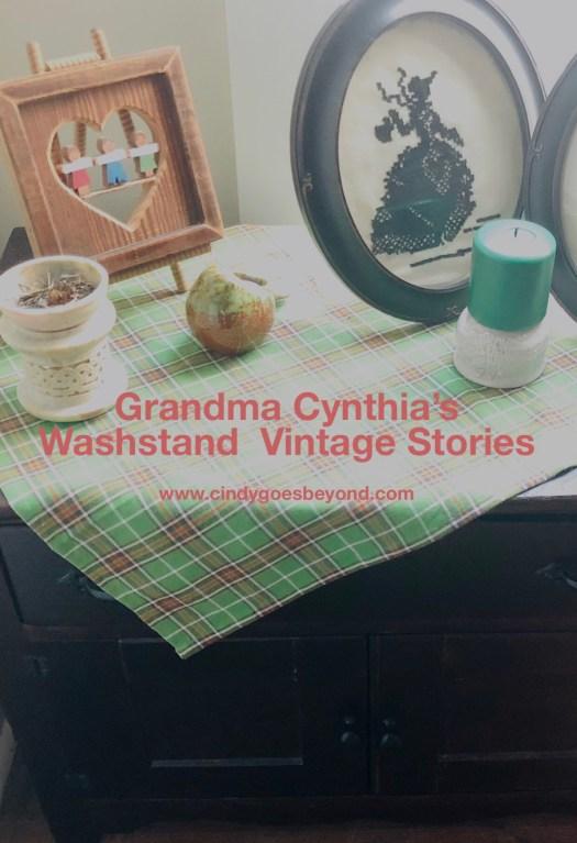 Grandma Cynthia's Washstand