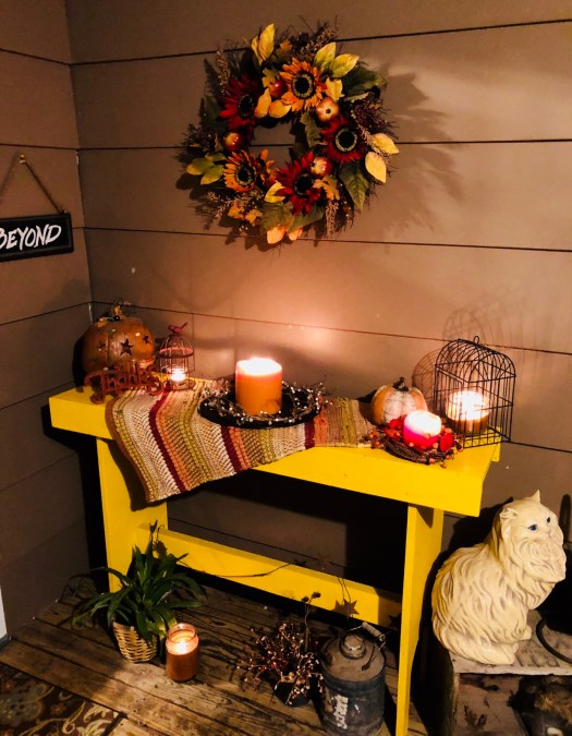 Day 7 Create a Fall Themed Front Porch