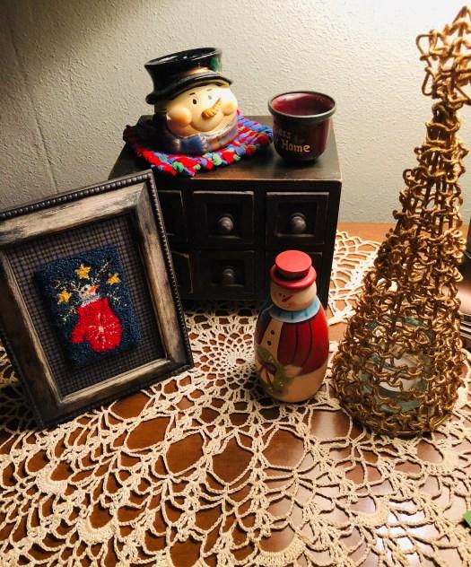 Christmas Decorating Underway