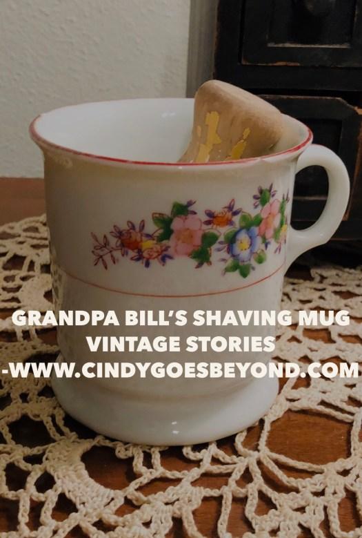 Grandpa Bills Shaving Mug