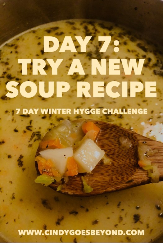 Day 8: Try a New Soup Recipe