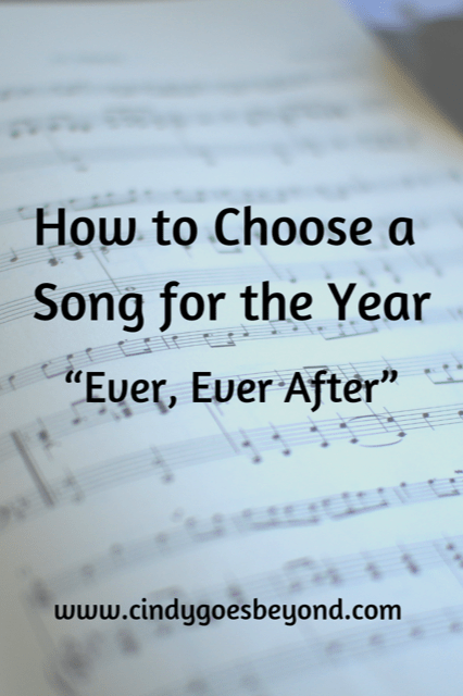 How to Choose a Song for the Year