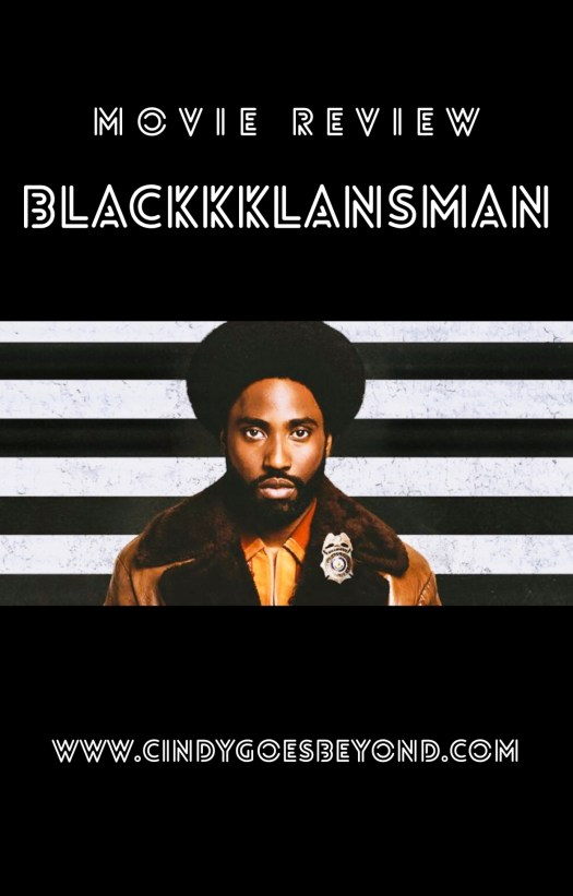 Movie Review BlacKkKlansman